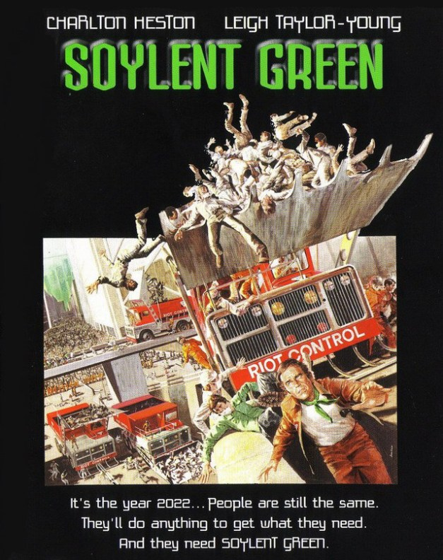 Soylent Green are humans